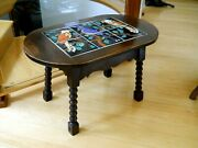 Superb Monterey California Catalina Tile Top Table Birds Mission Arts And Crafts