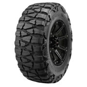 4-33x12.50r17lt Nitto Mud Grappler 120q E/10 Ply Bsw Tires