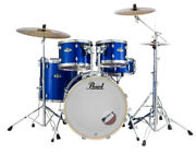 Pearl Export 5-pc. High Voltage Blue Drum Set W/830-series Hardware Pack Exx725