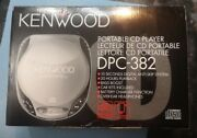 Kenwood Dpc-382. New Never Used Complete. Portable Cd Player