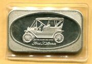 1972 Ford Tin Lizzie 1-oz Silver Bar By Madison Mint - Mad-5 - Free Shipping
