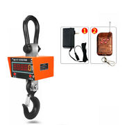 3t/5t/10t Wireless Digital Electronic Hanging Crane Scale With Remote Control