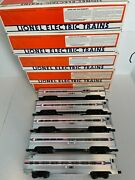 Lionel Amtrak 5 Passenger Cars O Scale 6-19101,2,3,4,6 New