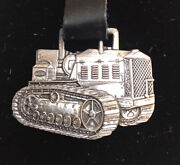 Vintage Watch Fob Caterpillar Sterling Silver Collectors Series 031/150 Rare