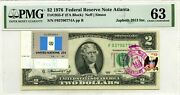 2 Dollars 1976 Stamp Cancel Flag Un From Guatemala Lucky Money Value 3000