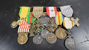 Wwi Post French Foreign Legion Medal Grouping