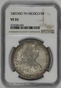 1807mo Th Mexico Silver 8 Reales Ngc Vf35 Charles Iiii Spanish Colonial