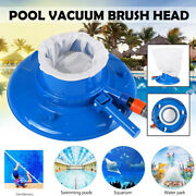 Us Swimming Pool Pond Suction Vacuum Suction Head Brush Cleaner Fountain Clean