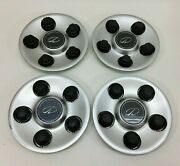 00-02 Olds Intrigue 16 Wheel Painted Center Hub Caps Set Of 4 9593499 20