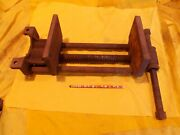 Columbian 1r Woodworking Bench Vise Shop Tool Quick Release 7 Jaws X 10