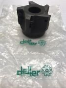 """2"""" Indexable Face Mill 3/4"""" Arbor Hole. Delfer Loc L9"""