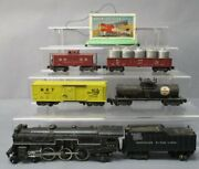 American Flyer 5525tbw Vintage S New Meteor Freight Set 293,937,912,916,930,566
