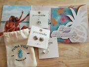 Pura Vida Monthly Club Exclusive Jewelry Pack Ear Cuff, Studs, Ring January 2021