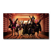 One Piece Strong World Anime Silk Poster 12x21 24x43 Inch Luffy Zoro Ace