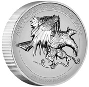2021 Australian Wedge-tailed Eagle 1 Oz Platinum Reverse Proof Hr Coin