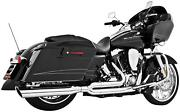 Freedom Union 2-into-1 For Dresser And Road King Models Chrome Hd00650