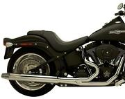 Supertrapp 2-into-1 Silent Series Exhaust For 250mm Wide Tire 178-71590