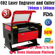 Us 27.5 Andtimes 20 80w Co2 Laser Engraver Cutter Laser Engraving Cutting Machines