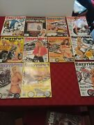 Lot 11 1999 Easy Rider Easyriders Motorcycle Magazines W/ Centerfolds