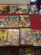 Lot 11 1997 Easy Rider Easyriders Motorcycle Magazines W/ Centerfolds