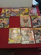 Lot 10 1998 Easy Rider Easyriders Motorcycle Magazines W/ Centerfolds
