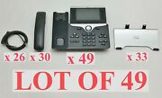 Cisco Cp-8851-k9 Unified Ip Voip Poe Office 5 Color Display Phone Parts Lot 49