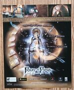 Of Persia Sands Of Time Gba Ps2 Pc 2003 Print Ad/poster Hour Glass Art