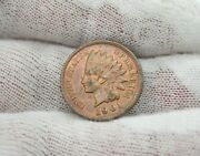 1901 Indian Head Small Cent Penny Us Coin