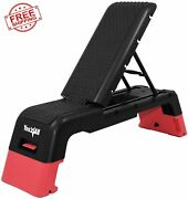 Multifunctional Aerobic Deck Versatile Fitness Station Weight Bench Fitness Step