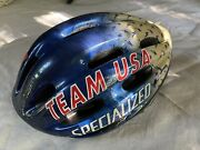 Rare Vintage 1995 Specialized Team Usa Cycling Helmet Size Large Collectors Item