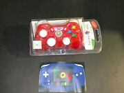 Red Stormin Cherry Rock Candy Xbox 360 Wired Controller Brand New Sealed