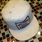 Vtg 80's Distressed Coors Beer Rodeo Nra National Rodeo Association Hat Cap