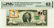 2 Dollars 1976 First Day Stamp Cancel Spirit 76 And Pre Olympic Munchen 72 3000