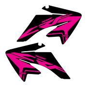 Crf70 2004-2012 Stock Updated Black/pink Shroud Graphics Free Shipping