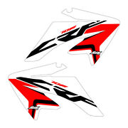 Crf70 2004-2012 Stock Updated W/r/black Shroud Graphics Free Shipping