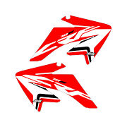 Crf70 2004-2012 Stock Updated Red Shroud Graphics Free Shipping