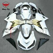 Abs Injection Full Fairing Bodywork Kit Set Fit For Ninja Zx14r Zx10r 2012-2015