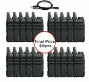 20 Pcs Radio Station Walkie Talkie Portable Handy Device For Communication Tool
