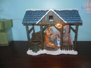 Pipka First Christmas Nativity Creche Large No Figures Or Light Included
