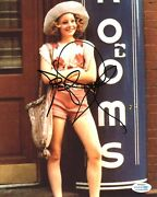 Jodie Foster Signed 10x8 Photo Taxi Driver Genuine Signature Acoa 7403