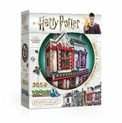 Puzzle 3d Quality Quidditch Supplies And Slug And Jiggers Harry Potter Wr000509