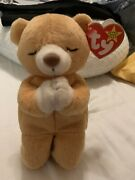 Ty Beanie Baby Hope Praying Bear With Tag Error