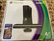 Microsoft Xbox 360 S With Kinect - Model 1439 Complete With 17 Games