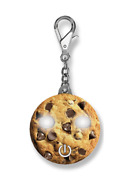 Lotta Lite Chocolate Chip Cookie Led Keychain Light Purse Backpack Ll600co New