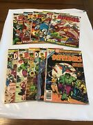 Lot Of 10 Marvel Comics The Defenders 3-11 And Annual 1 High Grade