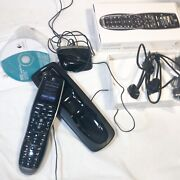 Logitech Harmony 900 Universal Remote Control W/ Charger, Receiver, And Box Read