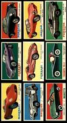 1961 Topps Sports Cars Almost Complete Set 7 - Nm