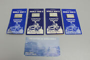 History Of World War Ii European Theater Set Of 4 1oz Sterling Silver Bars
