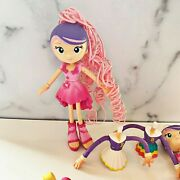 Betty Spaghetti Mix Match Hair Fashion Doll Clothes Shoes Lot Moose Toys Er2