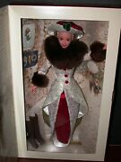 1995 Holiday Memories Barbie Christmas Doll 14106 Special Ed. Victorian Dress